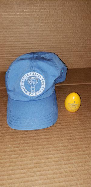 White House Easter Egg Roll Cap and Egg for Sale in Washington, DC