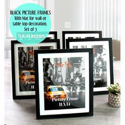 Cavepop 11x14 black picture frames CF b for Sale in Phoenix,  AZ
