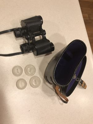 Vintage Tasco 6x30 Binoculars with hard carrying case for Sale in Evansville, IN