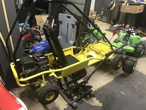 Go kart with new unused motor (with the receipt and warranty) for Sale in Gaithersburg, MD