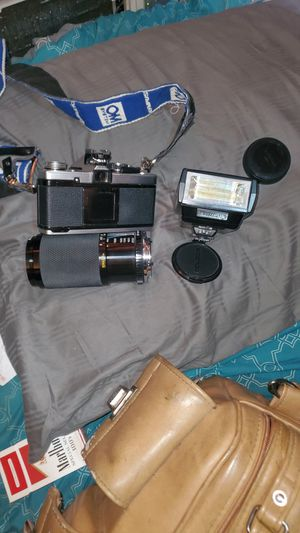 Olympus om2 camera and kit for Sale in Odessa, TX