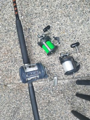 Fishing poles and reels for Sale in Kent, WA