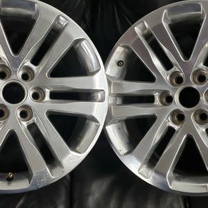 18x8.5 6 Lug Gmc Canyon Rims Set Of 4 for Sale in Troy, MI