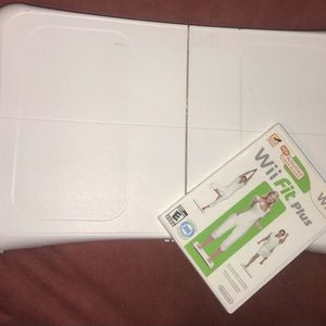 Wii Fit Balance Board With Wii Fit Plus Game for Sale in Detroit, MI