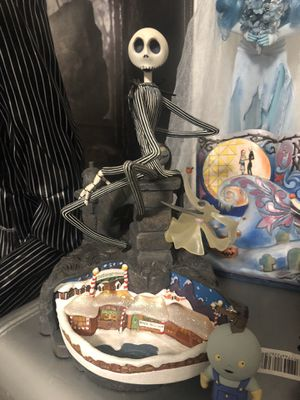 Nightmare Before Christmas 10th anniversary statue figurine figure Disney for Sale in Las Vegas, NV
