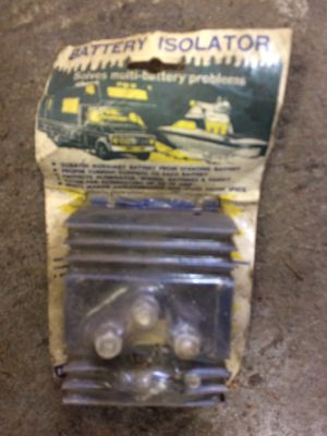 Battery Isolator 70 Amp for Sale in Vancouver, WA