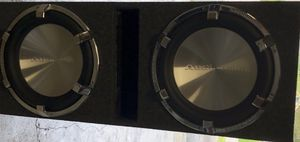 """Two 12"""" AudioBahn Subwoofers 2000w Each for Sale in Nashville, TN"""