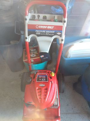 Troybilt pressure washer 2550 max psi for Sale in Haines City, FL