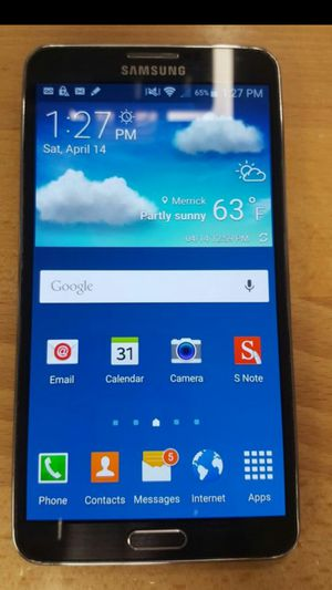 SAMSUNG GALAXY NOTE 3 FACTORY UNLOCKES ANY CARRIER USA OR INTERNATIONAL for Sale in Los Angeles, CA