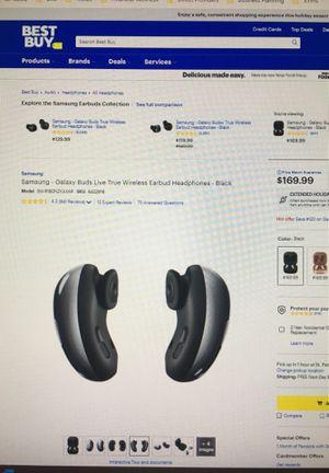 Samsung Galaxy Buds Live True Wireless Earbud Headphones for Sale in St. Petersburg, FL