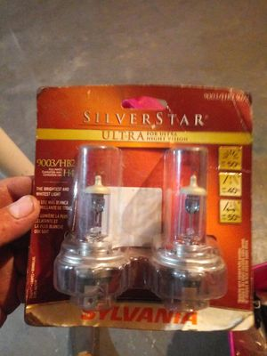 Light silver ultra 9003. HB2. H4 bulbs any car for Sale in Westchester, IL