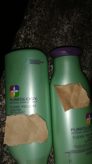 Pureology clean volume for fine color treated hair shampoo and conditioner for Sale in Renton, WA