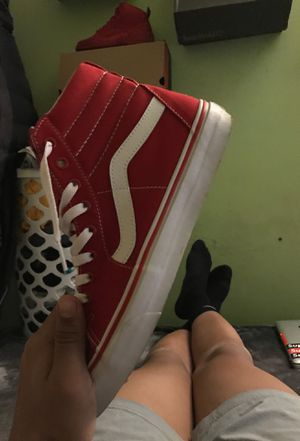 Sk8thigh vans size 10.5 trades or cash for Sale in Boston, MA
