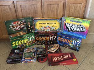BOARD GAME BUNDLE for Sale in Las Vegas, NV