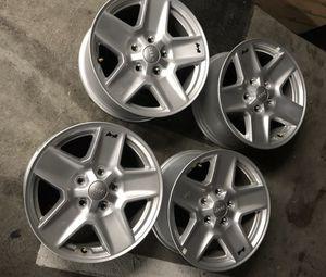 Jeep wheels rims aros rines oem stocks for Sale in Hialeah, FL