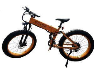 "TMB-26"" TANK MOUNTAIN - Fat Tire Folding Aluminum e-Bike in Flat Orange - Brand New for Sale in Industry, CA"