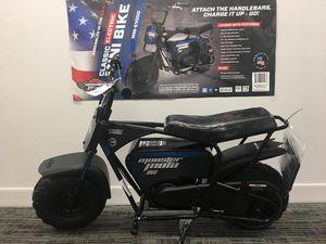 Monster classic electric mini bike brand new nueva for Sale in Dallas, TX