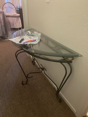 Set of 5 glass tables for Sale in Merced, CA