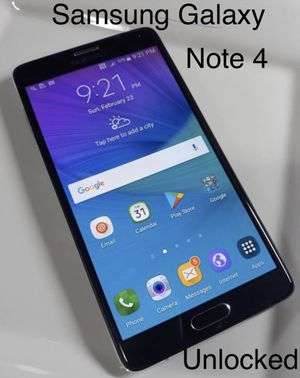 Samsung Galaxy Note 4 ✅ Unlocked for Sale in Orlando, FL