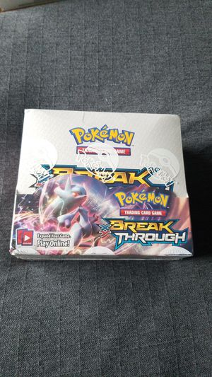 Pokemon breakthrough booster box for Sale in Everett, WA