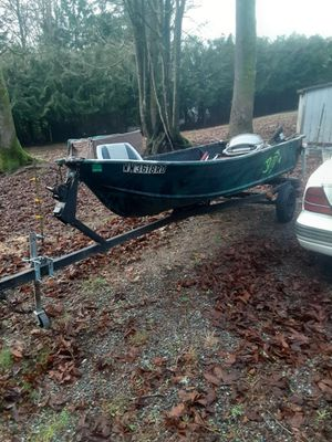 Boat and trailer for Sale in Tulalip, WA