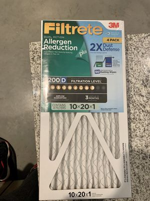Filtrete Allergen Reduction Air Filters for Sale in Ladson, SC