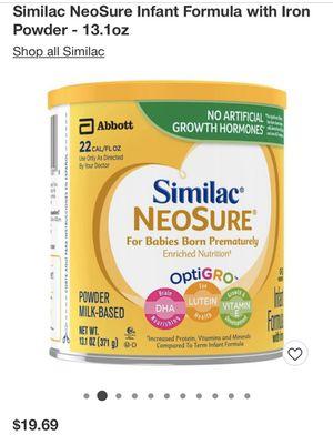 Similac NeoSure for Sale in Philadelphia, PA