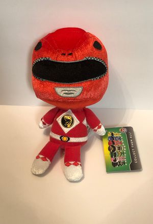 "Mighty Morphin Power Rangers Red Ranger Collectible 6"" Plush Funko Hero Plushies New with Tags for Sale in Las Vegas, NV"