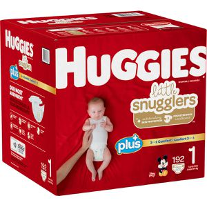 Huggies size 1 192 count for Sale in DEVORE HGHTS, CA