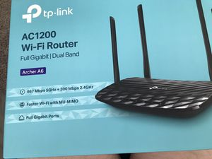TP-LINK AC1200 WiFi router for Sale in Wenatchee, WA