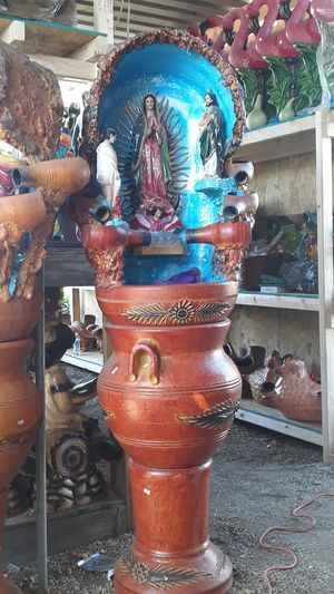 Mexican pottery WEEKEND SPECIAL (water fountain) for Sale in Bloomington, CA
