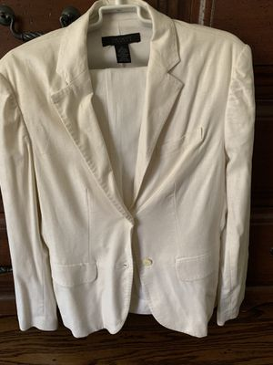 Vintage Limited White Suit Jacket and Pants for Sale in Long Beach, CA