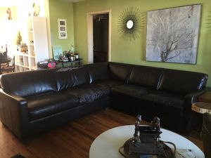 Free leather sectional for Sale in San Diego, CA