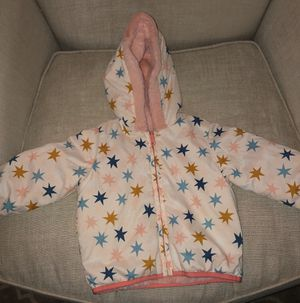 Hanna Andersson toddler girls reversible winter jacket size 80/2 retail price $89 for Sale in Bothell, WA