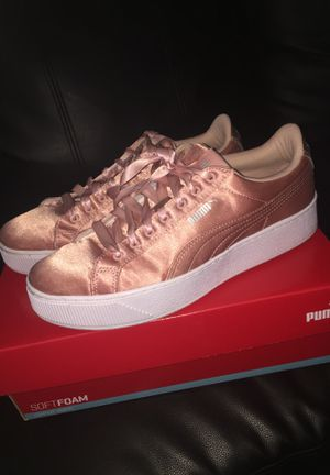 Rose pink silk Pumas for Sale in Columbus, OH
