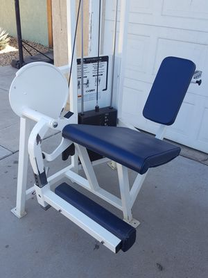 Cybex leg extension weight bench for Sale in Corona, CA