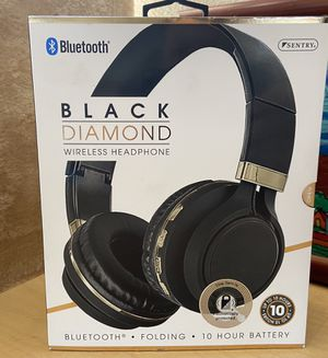 Bluetooth black diamond wireless headphone/rechargeable battery up to 10 hours for Sale in Los Angeles, CA