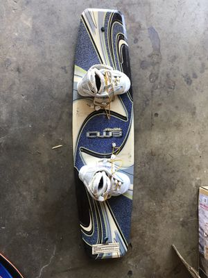 CWB Wakeboard and Boots for Sale in Covina, CA