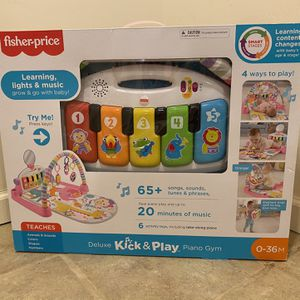 Fisher Price Kick & Play Piano Mat for Sale in Waterford Township, MI