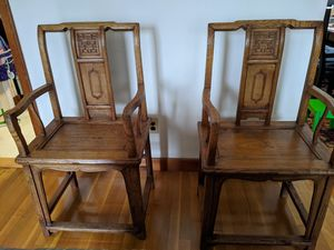 Antique Chinese Wooden Chairs for Sale in Saugus, MA