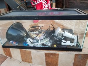 Reptile tank and accessories for Sale in Los Angeles, CA