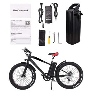"""ENPO ELECTRIC BICYCLE eBike FAT TIRE 26"""" cruiser NEW WITH BOX for Sale in North Miami Beach, FL"""