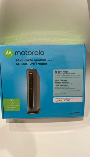 Cable Modem Plus Wifi Router for Sale in Cape Coral, FL