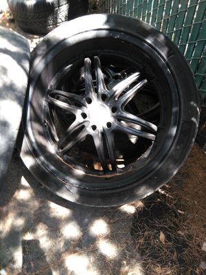 24inch rim for Sale in West Sacramento, CA