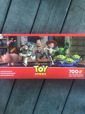Disney toy story panoramic 700 pc puzzle game kids for Sale in Byron, GA
