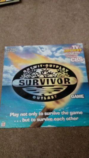 Survivor board game for Sale in Delray Beach, FL