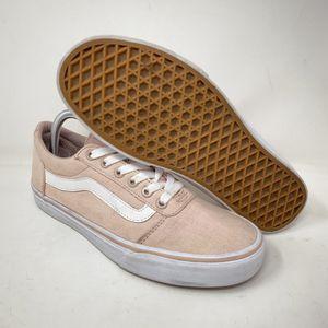 VANS Classic Old Skool Pink Canvas Lace Up Low Top Skate Shoes Women's Sz 9 for Sale in Phoenix, AZ