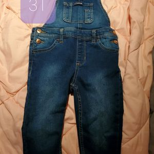Overalls 3T Kids Toddlers Jeans for Sale in Dinuba, CA