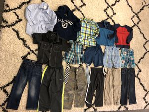 No stain - no holes - 3T clothes boy toddler kid child lot bundle 18 piece pants shirts button up tie tops bottoms shorts for Sale in West Covina, CA