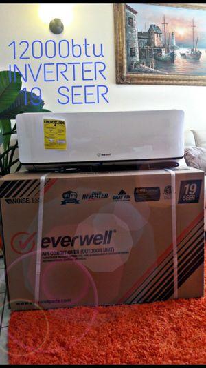 Air conditioner AC Split Minisplit Mini split Brackets inverter 12000 BTU✳️ Alta eficiencia 🔄 Wi-fi 🔄 19 SEER for Sale in Miami Springs, FL